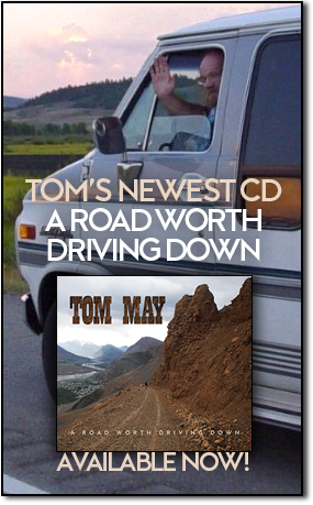 Purchase Tom May's CD, River City Folk Duets!
